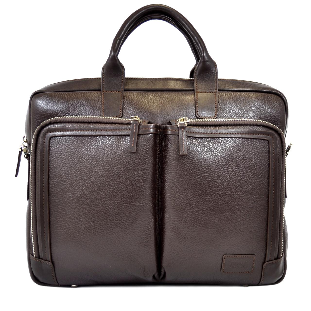 f5d32e515c06 Мужская кожаная сумка для документов Bond - Интернет-магазин