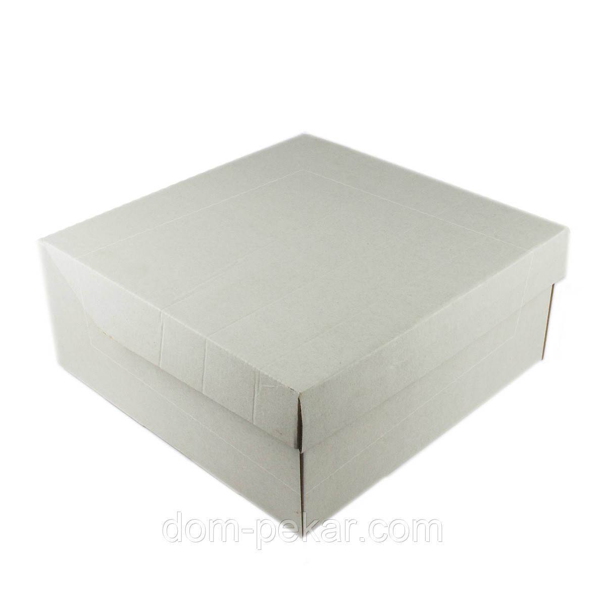 Коробка Cake box універсальна 267*267*115мм