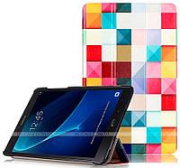 Чехол Slimline Print для Samsung Galaxy Tab A 10.1 2016 SM-T580, SM-T585 Colour Blocks