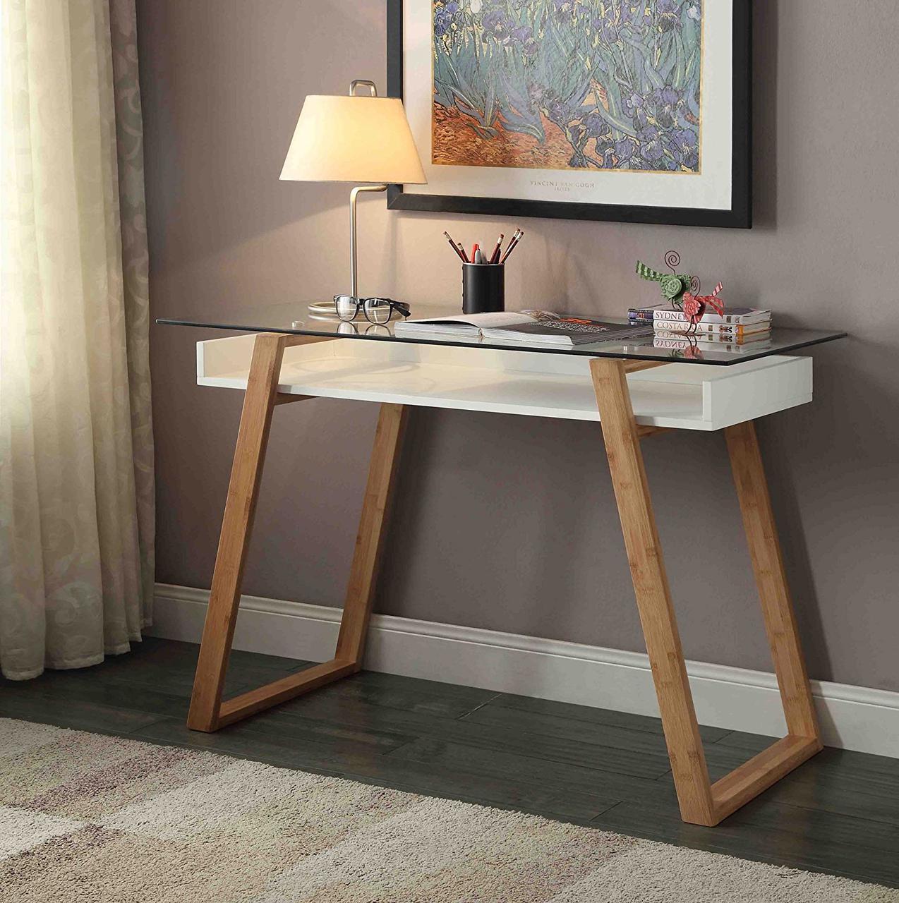"""Письменный стол """"Моника"""" из массива натурального дерева"""