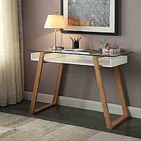 """Письменный стол """"Моника"""" из массива натурального дерева, фото 1"""