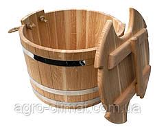 Запарник для веников дубовый 25 литров, фото 3