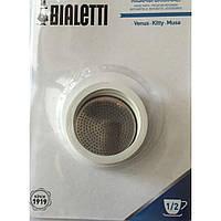 3 уплотнителя + сито для кофеварок Bialetti (2 чашки)