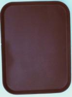 """Поднос """"Antislip"""" для официанта коричневый, 65*45 см"""