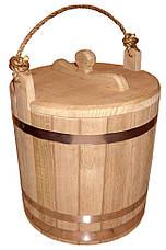 Ведро дубовое для солений 20 литров, фото 2