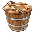 Ведро дубовое для солений 10 литров, фото 3