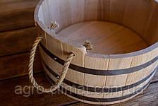 Зграя дубовий для бані та сауни 20 літрів., фото 3