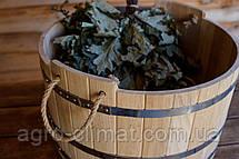 Зграя дубовий для бані та сауни 20 літрів., фото 2