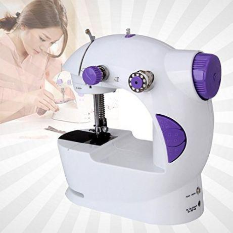 Швейная машинка портативная FHSM 201 с адаптером