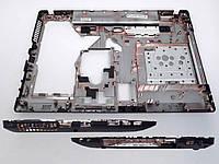Корпусная деталь (низ, дно, корпус) Lenovo G575 без HDMI разъема.