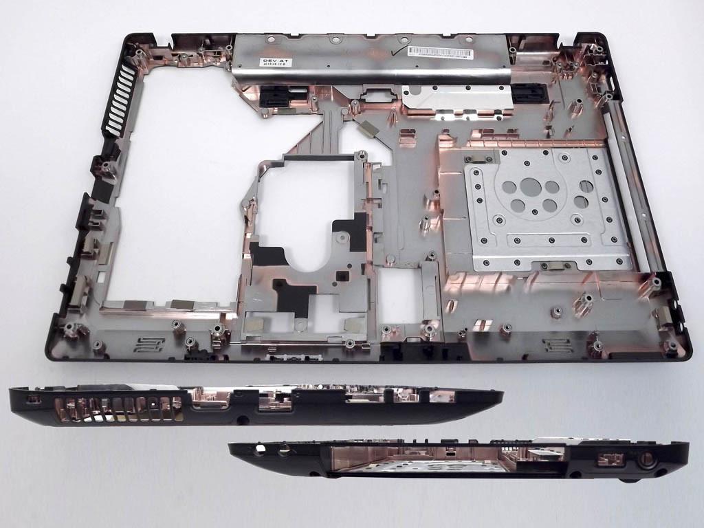 Нижняя крышка Lenovo G575 под версии ноутбуков без HDMI разъема.