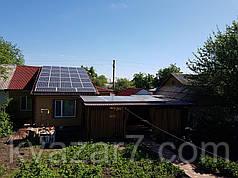 Сонячна електростанція на 10 кВт мережева дахова