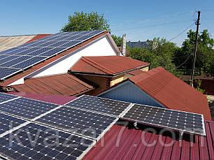 Солнечная электростанция  10 кВт сетевая крышная, фото 2