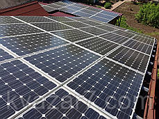Солнечная электростанция  10 кВт сетевая крышная, фото 3