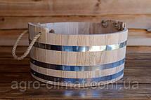 Шайка для бани и сауны 15 л. (эконом), фото 3