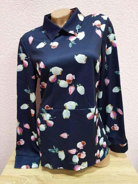 Блузка тёплая стрейч