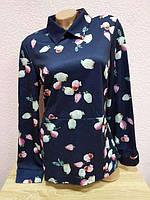 Блузка тёплая стрейч, фото 1