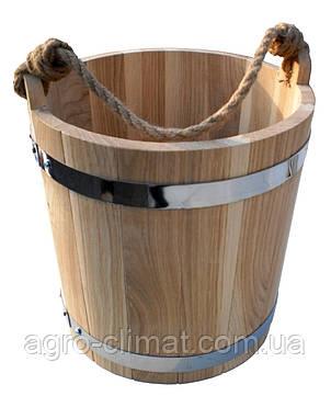 Ведро для бани 7 л. (эконом), фото 2