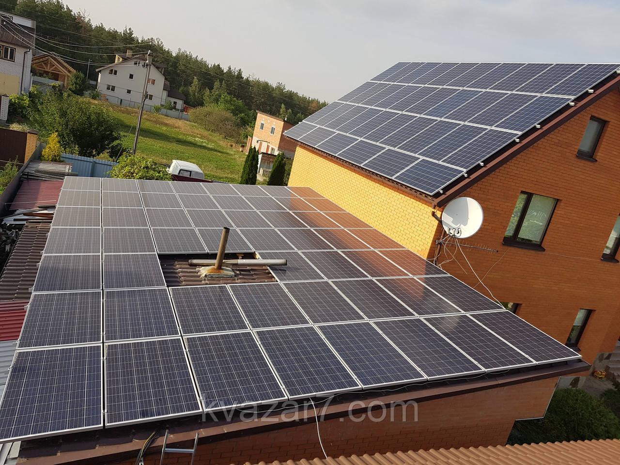 Сонячна електростанція 20 кВт мережева дахова