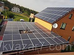 Солнечная электростанция 20 кВт сетевая крышная