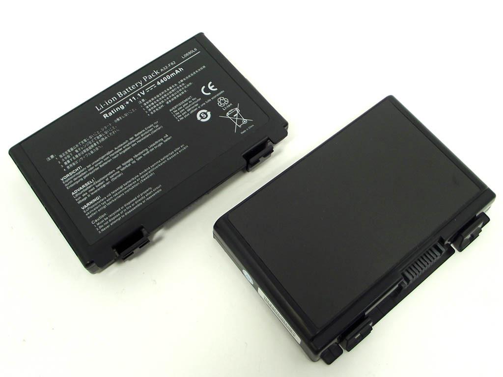 Батарея ASUS A32-F82: ASUS K50 11.1V 4400mAh Black.