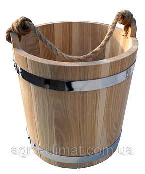 Ведро для бани 15 л. (эконом), фото 2