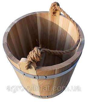 Ведро для бани 15 л. (эконом), фото 3