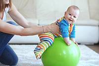 Что такое фитбол и его польза для малышей?