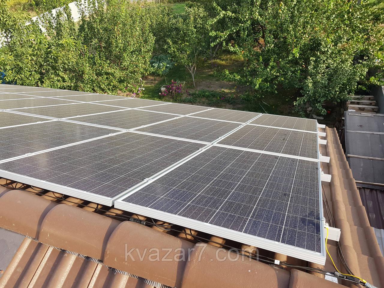 Солнечная электростанция зеленый тариф 30 кВт
