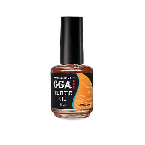 Масло для кутикулы GGA Professional Мандарин, 15 мл