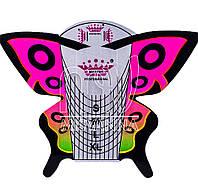Формы для наращивания ногтей Master Professional Butterfly, 20 шт. овал
