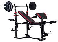 Набор Elitum TITAN 48 кг со скамьей HS-1055 + парта Скотта