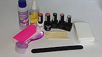 Стартовый набор для покрытия гель-лаком Tertio (3 цветных гель-лака)