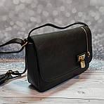 Черная женский сумка - клатч, фото 2