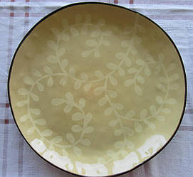 Блюдо круглое из керамики Etruria