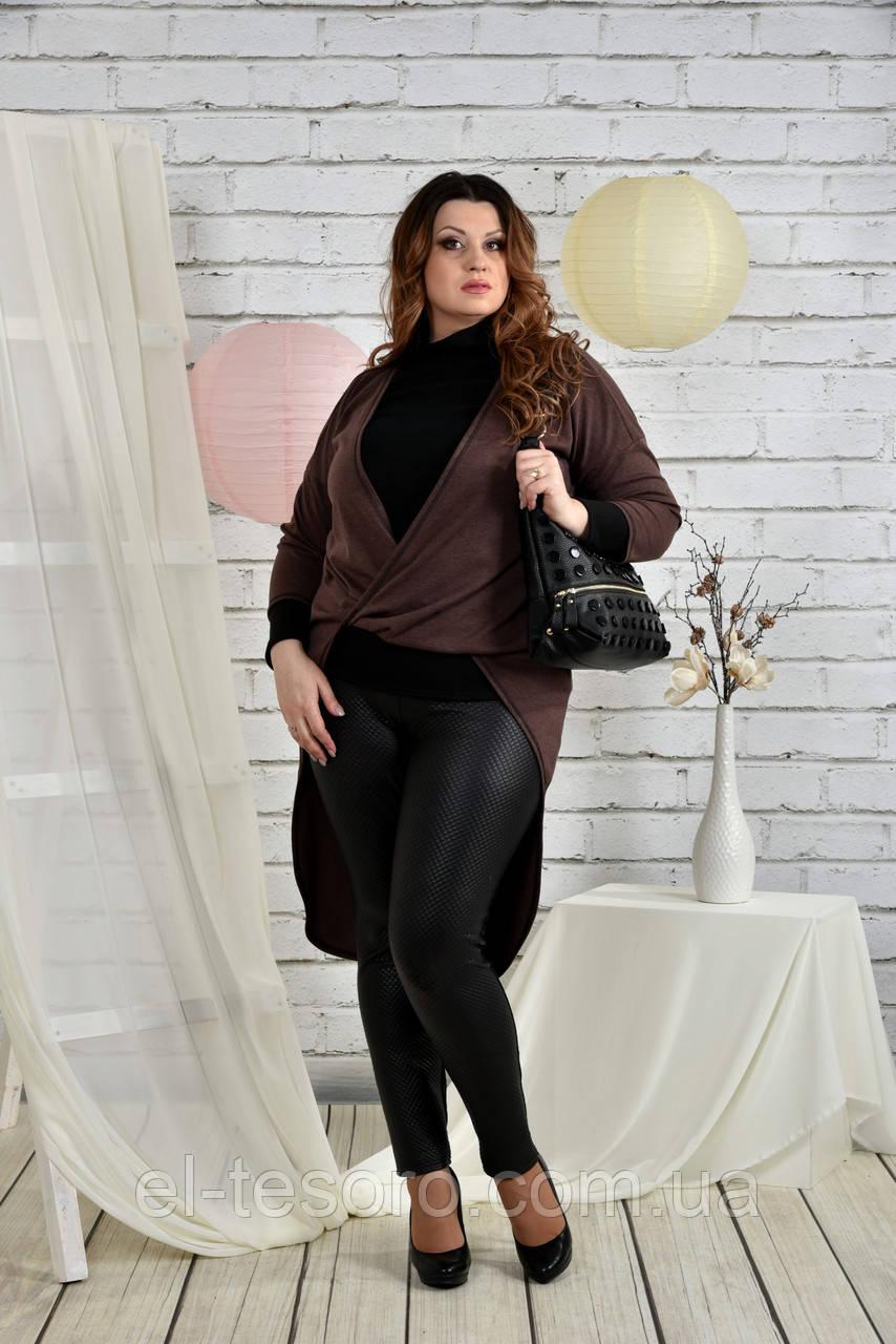 Шоколадная блузка 0422-1