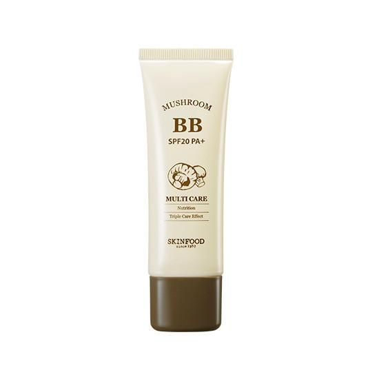 SkinFood ВВ Kрем Mushroom Multi Care BB Cream SPF20 PA+ #2 Натуральный бежевый 45ml