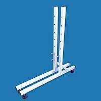 Ніжки з регулювальними ніжками посилені для торговельної сітки в рамці