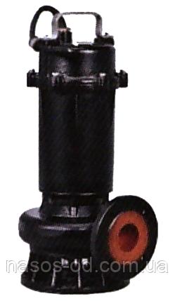 Насос канализационный фекальный Leo 380В 1.1кВт Hmax15м Qmax500л/мин