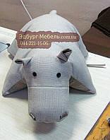 Подушки Бегемотик для мягкой мебели декоративные, фото 1