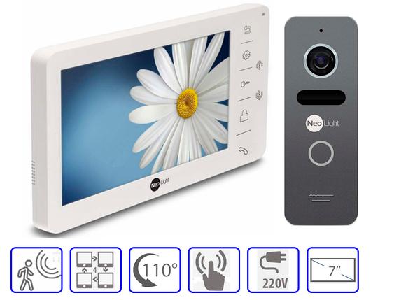 Комплект домофонной системы Neolight Kappa + Neolight SOLO, фото 2