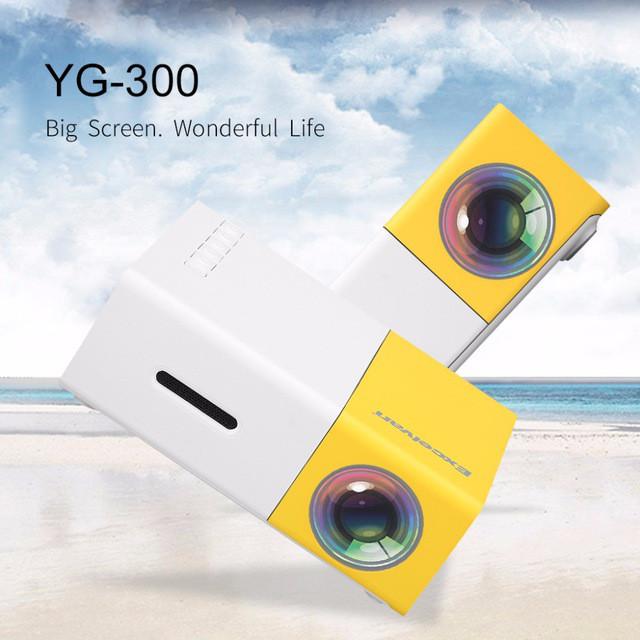 Проектор портативный мультимедийный с динамиком Led Projector YG310