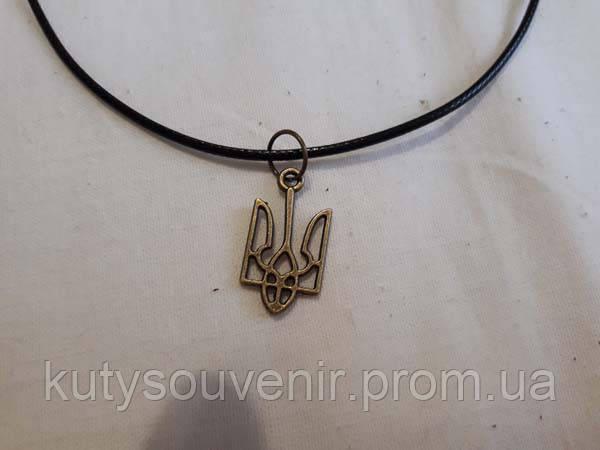 Кулон тризуб Герб Украины