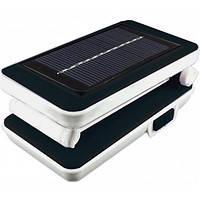 LED Светильник настольний (солнечная батарея) LEMANSO 5W 192LM LMF27 6500K 800mAh 65*75*135мм (черная)