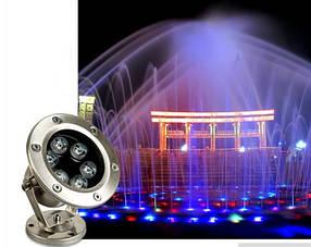 Подсветка и декор прудов, фонтанов, аквариумов