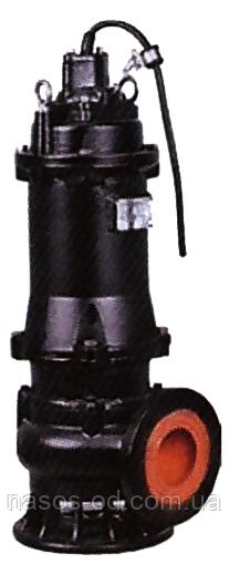 Насос канализационный фекальный Leo 380В 5.5кВт Hmax25м Qmax1800л/мин