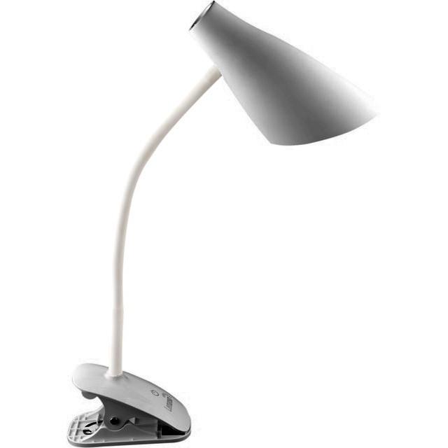 LED Светильник настольний LEMANSO прищепка 5W 320LM 4 уровня регулировки (серебро)