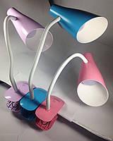 LED Светильник настольний LEMANSO прищепка 5W 320LM 4 уровня регулировки (фиолетовый)