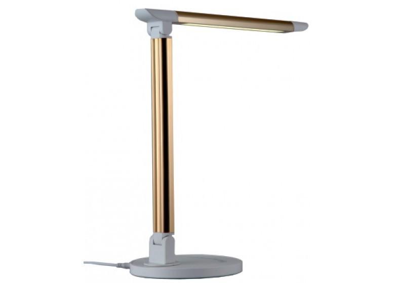 LED Светильник настольний LEMANSO 6W 300LM 6000K (золотий)