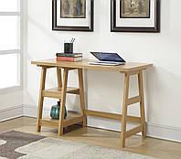 """Дизайнерский стол """"Эдгар"""" из массива экологически чистого дерева, фото 1"""